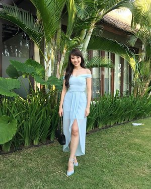 i miss you Bali ❤️❤️ #bali #baliwedding #weddingparty #blue #cinderellablue #ootd #ootdindo #ootdasean #outfit #dress #dresses #lookbook #lookbooklookbook #lookbookbkk #lookbookindonesia #clozetteid #doublewootootd #doublewoot #canggu