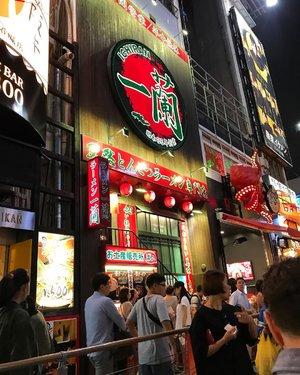 our favorite ramen,,Ichiran ramen #ichiran #ichiranramen #dotonbori #japan #osaka #cullinary #foodie #foodism #ramen #ramenlover #clozetteid