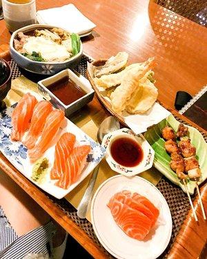 Japanese food lovers 🍣🍱🍛 salmon sushi is my favorite.. will be back there next week! @kikugawa_jkt #japanesefood #japanese #japanese_food #foodie #foodphotography #foodpics #instafood #instagram #clozetteid