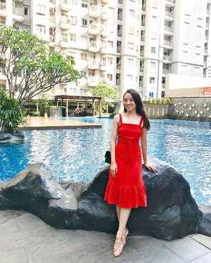 Be happy always ❤️💃🏻 (don't forget to wear something very eye catching,like Red dress) #red #reddress #outfit #outfitoftheday #ootd #ootdindo #ootdfashion #lookbook #lookbooklookbook #lookbookindonesia #lookbookbkk #lookbookmelove #styles #stylenanda #style #styleoftheday #lbootd #sayaLB #womenofLb #lovebonito #lovebonitoindonesia #iwearlovebonito #instastyle #instagram #instadaily #instagood #pictureoftheday #potd #clozetteid #clozetteambassador