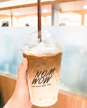 This one is so good! #mochamilk #drink #sweets #sweetoftheday #coffee #delicious #beverage #instagram #instadaily #clozetteid