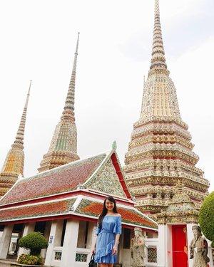 The beautiful temple of Thailand... Wat Pho ❤❤❤ #traveller #travelstyle #travelling #thailand #watpho #igtravel #clozetteid #clozetteambassador