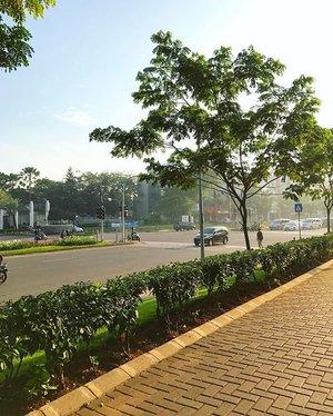Morning walk #goodmorning #saturday #happysaturday #morning #morningwalk #clozetteid