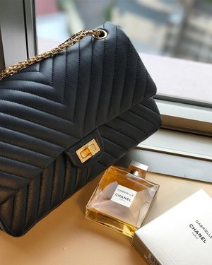 aee9dbcc5a6316 Chanel Reissue Double Chevron Bag.. I never thought that i will buy a  reissue