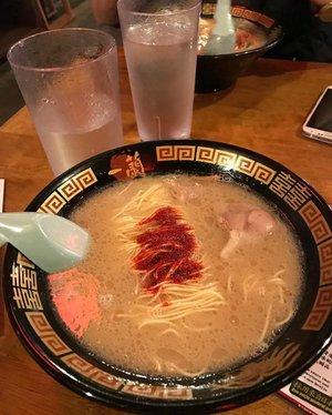 This ramen is famous ❤❤❤#ichiran #ramen #japaneseramen #noodle #clozetteid #food #foodism #yummy