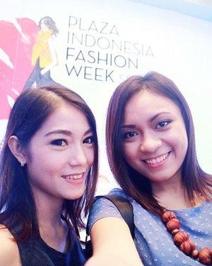 Last week at Plaza Indonesia Fashion Week Spring/Summer 2016 😊 #PIFW #PIFW2016 #COASTINDONESIA #ClozetteID