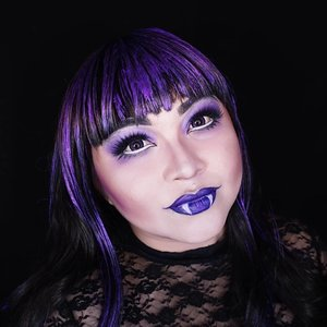 PURPLE . Still inspired by one of my doll, a.k.a @monsterhigh character. This is #Elissabat for the last color of my rainbow makeup look� . . . . #auzolamakeupcharacter #dirumahaja #stayhome #wakeupandmakeup #purple #purplemakeup #monsterhigh #makeupforbarbies  #indonesianbeautyblogger #undiscovered_muas @undiscovered_muas #clozetteid #makeupcreators #slave2beauty #coolmakeup #makeupvines #tampilcantik #mua_army #fantasymakeupworld #100daysofmatkeup #15dayscontentmarathon