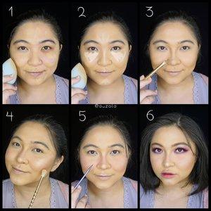Previous look #pantone #RadiantOrchid tutorial is here🌸🌸 . 🌸Face🌸 1.  Gunakan foundation pada keseluruhan wajah. 2. Tambahkan concealer pada bagian yang membutuhkan coverage lebih seperti undereye. 3. Bubuhi bedak dan tambahkan shading pada bagian hidung, tulang pipi, jidat dan juga rahang jika perlu. 4. Gunakan blush on berwarna pink dan tambahkan highlighter. 5. Buat faux freckles menggunakan pinsil alis/eyeliner berwarna coklat. 6. Tambahkan eyemakeup dan lipstick! . 🌸Eyes🌸 1. Gunakan eyeshadow ungu pada keseluruhan kelopak mata. 2. Tambahkan warna ungu yg lebih gelap pada ujung lipatan kelopak mata dan baurkan. 3. Tambahkan glitter pada kelopak mata. 4. Gunakan eyeshadow ungu yang sama pada bagian bawah mata. 5. Tambahkan eyeshadow berwarna pearl pada ujung mata bagian dalam dan baurkan sedikit pada tulang alis. 6. Gunakan eyeliner. 7. Gunakan penjepit bulu mata dan maskara. 8. Jika perlu tambahkan bulu mata palsu. . And you are DONE! Selamat mencoba❤ . . . . 🌸Face🌸 @shuuemura @maybelline @toofaced @beccacosmetics @fanbocosmetics 🌸Eyes🌸 @viseart @juviasplace @nyxcosmetics @gobancosmetics @id.oriflame @silverswanlash 🌸Lips🌸 @esqacosmetics . . . . #coloroftheyear  #wakeupandmakeup #makeupforbarbies #purple  #indonesianbeautyblogger #undiscovered_muas @undiscovered_muas #clozetteid #colorful #makeupcreators #beautybloggerindonesia #slave2beauty #coolmakeup #makeupvines #indobeautysquad #fdbeauty #mua_army #fantasymakeupworld #100daysofmakeup