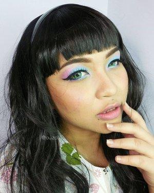 I guess i do look better with bangs, don't you think? 😆 #makeup #eyemakeup #vegas_nay #mayamiamakeup #anastasiabeverlyhills #hudabeauty #lookamillion #norvina #fcmakeup #zukreat #muajakarta #jakarta #indonesia #pinkperception #dressyourface #auroramakeup #lvglamduo #clozetteid #fotdibb #blogger #indonesianbeautyblogger #nudelip #indobeautygram #pantone #serenity #rosequartz #pantone2016 #coloroftheyear #pastel #limecrime