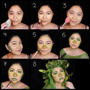 #Tefiti makeup tutorial! . Stepsnya aku update nanti yah, lagi bikin kue 😁 . . . . #auzolamakeupcharacter #dirumahaja #stayhome #wakeupandmakeup #green #moana #motherearth #tefitimakeup #makeupforbarbies  #indonesianbeautyblogger #undiscovered_muas @undiscovered_muas #clozetteid #makeupcreators #slave2beauty #coolmakeup #makeupvines #tampilcantik #mua_army #fantasymakeupworld #100daysofmatkeup #15dayscontentmarathon