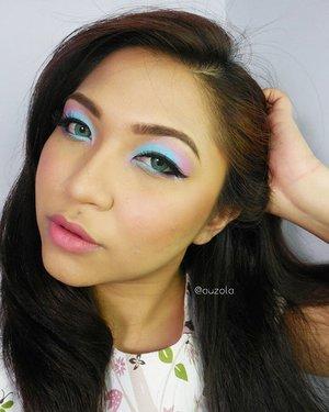 🌟 Pantone Color 2016 Serenity+Rose Quartz 🌟 Tutorial for this look is now up on the blog! Click link on bio or go to www.rainbowdorable.com 💋 #makeup #eyemakeup #vegas_nay #mayamiamakeup #anastasiabeverlyhills #hudabeauty #lookamillion #norvina #fcmakeup #zukreat #muajakarta #jakarta #indonesia #pinkperception #dressyourface #auroramakeup #lvglamduo #clozetteid #fotdibb #blogger #indonesianbeautyblogger #nudelip #indobeautygram #pantone #serenity #rosequartz #pantone2016 #coloroftheyear