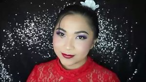 Check out my Mulan Inspired CNY makeup tutorial here https://youtu.be/P9idrO9yqcE or click link on bio 💋 . Product used: @benefitindonesia Air Patrol, @sugarpill Poison Plum eyeshadow, @juviasplace Masquerade Palette, @makeoverid trivia eyeshadoe Love at First Sight, @mizzucosmetics smart liner, Covergirl Star Wars mascara, @muacosmetics duo eyeliner, @makeupuccino Lash Addict in Nawang . . . #vegas_nay #wakeupandmakeup #anastasiabeverlyhills #hudabeauty #influencer #beautyinfluencer #SephoraIDNBeautyInfluencer #pinkperception #dressyourface #auroramakeup #clozetteid #blogger #collaboration #newyear #lfl #l4l #likeforlike #bloggerceriaid #red #purple #chinese #chinesenewyear #cny #mulan #disney #gongxifacai #indonesianbeautyblogger #undiscovered_muas #indobeautygram