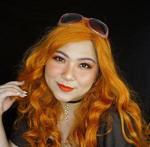 Orange 🍊🍊 . Merida vibes is strong with this one 😂 . Tutorial on previous post 💕 . . . . #Pantone #2012 #TangerineTango  #coloroftheyear #orange #tangerinetango #wakeupandmakeup #makeupforbarbies  #indonesianbeautyblogger #merida #brave #disneybound #undiscovered_muas @undiscovered_muas #clozetteid #colorful #makeupcreators #beautybloggerindonesia #slave2beauty #coolmakeup #makeupvines #indobeautysquad #fdbeauty #mua_army #fantasymakeupworld #100daysofmakeup