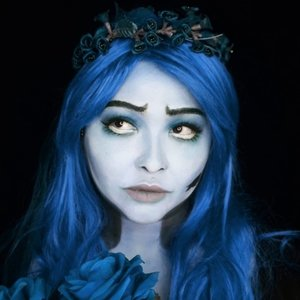 COLOR EDITED. . Swipe for the real color. . I just want to see how does it's gonna be if I actually use blue for the makeup. . You see I have no blue wig, so I can only make the red version of Emily the corpse bride 😂 . . . . #halloweenmakeup #halloween #corpsebride #emily #timburton #wakeupandmakeup #makeupforbarbies  #indonesianbeautyblogger #undiscovered_muas @undiscovered_muas #clozetteid #indonesianbeautyblogger #beautybloggertangerang #indobeautysquad #indobeautygram #fdbeauty #tampilcantik #mua_army #fantasymakeupworld #100daysofmakeup