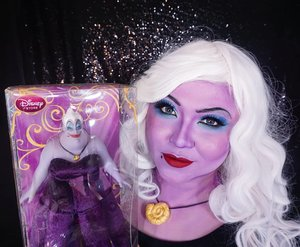 #auzolamakeupcharacter so which disney villain do you like best?? . You poor unfortunate souls can check out the tutorial for this look here #auzolatutorial ❤ . . . . #disneyvillain #ursula #thelittlemermaid #ariel #poorunfortunatesouls #makeupforbarbies  #indonesianbeautyblogger #undiscovered_muas @undiscovered_muas #clozetteid #makeupcreators #slave2beauty #coolmakeup #makeupvines #tampilcantik #mua_army #fantasymakeupworld #100daysofmakeup  #crazymakeup #halloweencolor