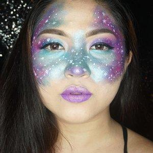 Kiss me beneath the milky twilight~ 🎶 . . . . #beautyundefeated #makeup #makeuplook #eyemakeup #fdbeauty #vegas_nay #wakeupandmakeup #clozetteid @wakeupandmakeup @make.up.vines #anastasiabeverlyhills #hudabeauty #influencer #beautyinfluencer #galaxy #milkyway #galaxymakeup #pinkperception #lfl #l4l #dressyourface #auroramakeup #fotdibb #blogger  #indobeautygram #makeupforbarbies #20likes #indonesianbeautyblogger #undiscovered_muas @undiscovered_muas  #indobeautygram