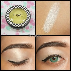 @pac_mt powder eyeshadow swatch on my hand and eye, i love the color!  Psstt, it can also be used as highlighter! Read the full review at www.rainbowdorable.com#makeup #eotd #eyemakeup #eyes #anastasiabeverlyhills #clozetteid #thebalmcosmetics #makeupcrazyhead #makeupfanatic1 #themakeupstory #mayamiamakeup #vegas_nay #dressyourface #auroramakeup #lvglamduo #hudabeauty #fotdibb #swatch #review #pacmt #bbmeetup #bbmeetupxpac @bbmeetup