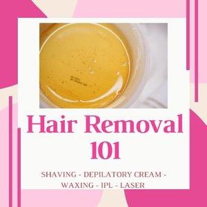 Kali ini aku mau share hair removal 101 nih! Jadi aku jelasin sedikit buat 5 macam hair removal yang pernah aku lakukan yaitu shaving, depilatory cream, waxing, IPL dan laser hair removal!.Kalau kalian paling suka metode yang mana guys dalam menghilangkan rambut tubuh membandel? Atau malah dibiarin aja biar ngga ribet? Hehe😁....#auzolareview #hairremoval #waxing #shaving #depilatorycream #laser #ipl #cchannelbeautyid #fdbeauty #clozetteid
