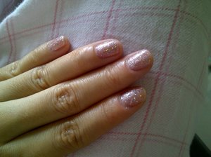 OPI Teenage Dream & China Glaze Bridezilla