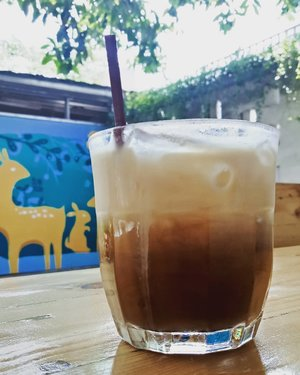 Today's good mood is sponsored by iced coffee.What's yours?.....#ClozetteID#coffeehopingjkt#coffeetasting#anakkopi#hobikopi#instacoffee#coffeestagram#coffee#caffein#fromwhereisit#onthetable#alkisah#alkisahrasa#kopsus#kopisusu