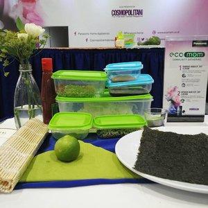 Di #cosmoecomomday2 hari ini saya akan belajar bikin sushi dari chef Steby Rafael @standbysteby . .. ... #ClozetteID #BloggerBabes #BloggerBabesID #fun #fearless #onthetable #fromwhereisit #sushi #cosmopolitanindonesia #panasonic