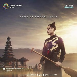 A month to go for @asiangames2018,  can't wait! . Dukung dan nonton yaaa .. ... #ClozetteID #AsianGames2018  #SukseskanAsianGames2018 #EnergyOfAsia  #NontonAsianGames #visitIndonesia #visitJakarta #bali #ulundanuberatantemple #ulundanutemple #ulundanuberatan