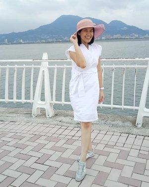 Pose menahan 🍃🍃🍃🍃......#ClozetteID#MeAndBerrybenka#ShamelessSelfie#selfie#neiiTWtrip#latepost#throwback#travelgram#instatravel#exploretaiwan#taiwandream