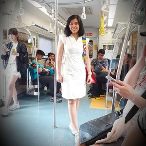 Good morning from Xinpu, Taiwan!.On the train to @taipei101mall_official..Tap for details outfit!...#ClozetteID#MeAndBerrybenka#katespade#ShamelessSelfie#selfie#instatravel#travelgram#wanderlust#neiiTWtrip#loveinspades#disneystyle