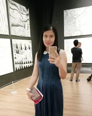 Good morning everyone!  Jalan jalan gih mumpung libur 😊 . .. ... #ClozetteID #yayoikusama  #kusamajakarta  #museummacan  #ShamelessSelfie #selfie #instagood #throwbackSaturday #weekendvibes #instakusama  #instaart