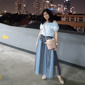 I feel good in this wardrobe!  Blouse and tutu dress is a gift from my aunt when we went to Tamsui Fisherman Wharf, Taiwan.How do I look? Tap for details outfit!.....#ClozetteID#ShamelessSelfie#selfie#buttonscarves#AloBag#outfitoftheday#ootd#whatiweartoday#wiwt#BSAlobag