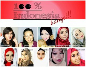 Dalam rangka HUT RI ke 71, aku dan beberapa temen blogger lainnya@irene_unarso @reredini84@fiarevenian @simplybeautyme@edelyne_oehmke@lilintanggg@nindyz@yukalicious15 @makeupbyindriMembuat makeup look dengan menggunakan produk-produk dari Indonesia. Disini kami mau memberitahu ke temen2 semua kalau kita harus bangga dengan produk lokal dan pastinya ga kalah bagus dengan produk asing lain kok ^^ Dirgahayu Indonesia!!Merdeka!! #indobeautygram #clozettedaily #clozetteid #starclozetter #sociollablogger #love #fotd #fotdibb #motd #motdibb #wardah #wardahlipstick #wardahintenesemattelipstick #lipstickmatte #lipsticklokal #wardahintense #makeup #makeupgeek #makeupaddict #lipjunkie #lipoftheday #lotd #lotdibb#HUTRI71 #atomcarbonblogger #beautybloggerindonesia #akucintaIndonesia #makeupkolaborasi #dirgahayuIndonesia