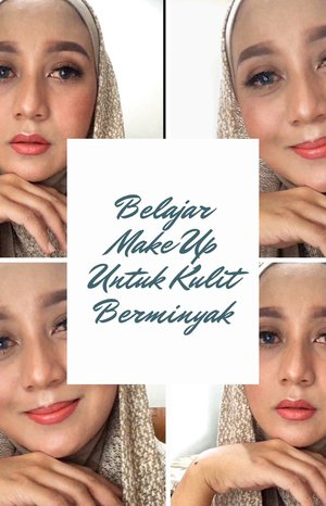 GRWMGet Ready With Me ceunah. Tapi ini mah belajar dandan untuk kulit berminyak supaya make up tetap awet.Emang sih stepnya lumayan banyak, tapi it works. Make up di kulit berminyak aku lumayan stay agak lama. ✨ Embryolisse sebagai pelembab.✨ Make Over Velvet Mattifying Primer : dioles di spot yang sering berminyak.✨ Make Over Powerstay Color Correcting Primer Yellow : untuk meratakan warna kulit.✨ Make Over Ultra Cover Liq Matt Foundation shade 01 Ochre.✨ Latulipe Mix Fix.✨ Maybelline Concealer shade 20 Sand untuk kantung mata.✨ LA Girl Pro Concealer shade Toast untuk shading.✨ Make Over Powerstay Mattfying Transparant Powder✨ Fanbo Eyebrow Pencil.✨ Wardah Eyebrow Kit.✨ Maybelline Fashion Brow Mascara.✨ LA Girl Pro Concealer shade Calssic Ivory untuk merapihkan alis.✨ Max Factor Cream Puff Pressed Powder.✨ Wardah Exclusive Eye Shadow Palette shade 01 Sunset Brown.✨ Max Factor Creme Puff Blush shade 10 Nude Mauve.✨ Wardah Exclusive Blush On shade 02 Coral Peach.✨ Vaselin Repairing Jelly.✨ Silky Girl Long Wearing Lipliner shade 02 Mauve.✨ Wardah Exclusive Moist Lipstick shade 36.✨ Studio Tropik Flawless Priming Water. 🎼 The Cainsmokers - Closer#clozetteid #makeupkulitberminyak #momblogger #lifestyleblogger #belajarmakeup