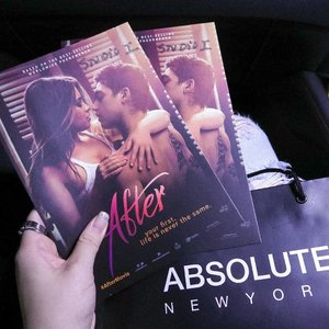 A movie about innocent girl who fall in love with a guy who didn't believe in love! Soooo intense!  Bikin penasaran kan alur cerita film AFTER ini? AFTER ini diadaptasi dari serial di wattpad yang sudah dibaca lebih dari 500 juta pembaca Kamu bisa tonton di @cinema.21 ya Thank you juga @absolutenewyork_id . . . . @clozetteid #Aftermovie #Aftermovieindonesia #absolutenewyorkid #absolutenewyork #ClozetteID #movie #moviepremiere #wonderfullyn #wattpad