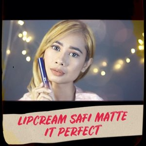 ...Siapa yang kemarin penasaran sama 10 shade lipcream @safibeautyperfect .....Langsung kepoin youtube aku ya ..Link full video di bio ya ....#lifestyle #mominfluencer #momlife #beautybloggerindonesia #jakartabeautyblogger #indobeautysquad #beautyblogger #lookoftheday #fashion #love #clozetteid #whatiworetoday #mylook #fashionista #instastyle #instafashion #makeuppost #fff #likeforlike #beautybloggerindonesia #WAH #Stayhome #beautybloggers #makeup #safibeautyperfect #matteitperfect #reviewsafi