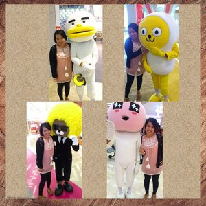 Do you remember this mascot from #KakaoTalk ? This chat application was very hits in its time. And all the mascot tho,,, Apeach, Jay G, Muzi & Con, Frodo, Neo, Tube. Which your favorite mascot ? Me, Apeach and Jay GTaken circa 2013 at @lotte_avenue #lovely_phuss #MascotKakaotalk #KakaoTalkMascot  #KakaoFriends #Apeach #JayG #Muzi #Tube #ChatApplication #Mascot #clozetteid