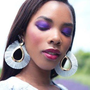 """Her soul is fierce, her heart is brave, her mind is strong"" - Janet Gwen.•Shot by @danielamajic_ .Modek @tamiabrewster Hair/Makeup by @jillyijoe .Wardrobe by @shopkitsu .Published in @girl_mag_ .•••••Product breakdown:• Foundation: @evepearl .• Eyebrows: @viseart brow palette.• Eyes: @patmcgrathreal la vie en rose palette.• lips: @colourpopcosmetics liquid lipstick."