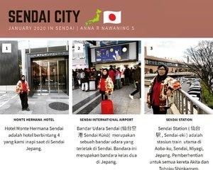 Lengkapi kunjungan ke Jepang dengan singgah Sendai(仙台市Sendai-shi). Sendaiadalahibu kota Prefektur Miyagi 🇯🇵 Pada 1 Oktober 2019 memiliki perkiraan populasi 1,090,263 dan kepadatan penduduk 1,387 orang per km². Total wilayah kota adalah 786.30 km².  Kotanya ramai, walaupun masih lebih sibuk Tokyo. Kami bermalam di Sendai awal thn 2020. Kemudian keluar dari Jepang menuju Taipei Taiwan melalui Sendai International Airport 🛅🛫 #traveler #wanderlust #traveling #balqis57travel #clozetteid #travelblogger #sendai