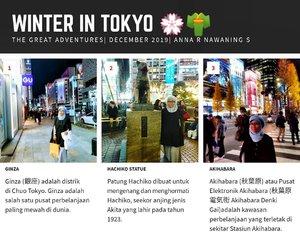 Winter in Tokyo#stayhomenowtravellater #travelaftercovid19 #travel#wanderlust #Tokyo #Japan #balqis57travel #clozetteid