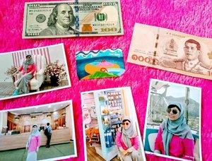 """#JumatBerkah Pagi2 udah ada yang ingetin untuk ngurus visa ✨✨✨ Alhamdulillah ... Begini ini hasil dari """"release"""" 🥰  #selflove #traveler #traveling #wanderlust #balqis57travel #clozetteid"""