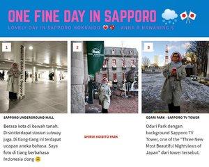 """Kota Sapporo di Pulau Hokkaido Jepang menjadi lokasi film """"One Day"""" , film Thailand populer yang disutradarai oleh Banjong 🎬  Film ini memperlihatkan semua obyek wisata di Sapporo. Penonton merasakan fitur romantis dan eksotis dari musim dingin Hokkaido! ❄️🌨️ Ah, akhirnya kesampaian jg daku ke kota yang jadi lokasi salah 1 film Thailand yang kusuka 😍 Pas akhir tahun/winter pula seperti yang diimpikan oleh tokoh di film tsb. Saat """"Meet & Greet"""" dengan sutradara & pemain2nya daku ikutan dong...mereka ke Grand Indonesia Jakarta. Cast cowoknya favoritku nih.... Chantavit Dhanasevi - ฉันทวิชช์ ธนะเสวี . Kufollow jg IG-nya, tp nggak usah dimention deh 😅  #traveler #Sapporo #Japan #Traveling #wanderlust #balqis57travel #clozetteid"""