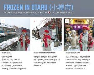 Frozen in Otaru 🇯🇵💴 #stayhomenowtravellater #travelaftercovid19#traveler #wanderlust#balqis57travel #clozetteid