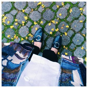 Too cute to ignore 🌻🍃 . . . #clozetteid #flowerpower #starclozetter #acolorstory #vscocam #fwisfeed #abmlifeisbeautiful #fromwhereistand #lifeisgood #shoestagram #flowereveryday