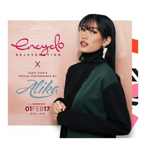 We invite you to come and see our mini talk show and singing performance 'Encyclo Rejuvenation with Alika' @alikaislamadina for IFW 2017 @indonesiafashionweekofficial.Date: Wed, February 1, 2017Time: 16.00 - 16.45 wibPlace: Main Lobby, Jakarta Convention CenterFREE ENTRY.Come and get a chance to bring home special goodie bags and shopping vouchers. See you there, ladies! 💌#encycloid #ifw2017 #improveyourstyle #starclozetter  #fashionblogger #clozetteid #whatwelike #alikasendiri