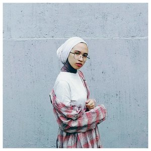 This could be the real deal 🍃...#clozetteid #acolorstory #abmlifeisbeautiful #starclozetter #plaidneverflat #abeautifulmess #chictopia #hijabstyle #turban #hijabchic #fridaymood #lookbookindonesia #ootd