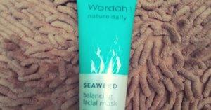 Review Masker WARDAH seaweed balancing facial mask