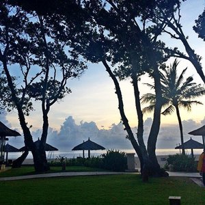 My beautiful morning  #conradbali  #travel #trip #travelgram #travelblogger #beach #Bali #nusadua #clozetteid