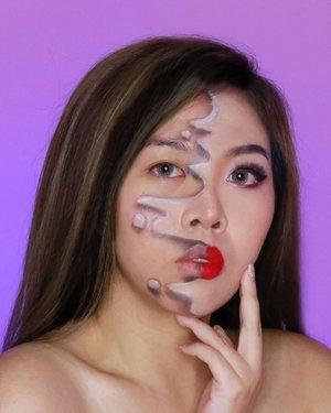 💗💗💗 . . Inspo: @madykennedy 👑 . . . . . . . . . . . . . . #illusionmakeup #clozetteid #makeup #wakeupandmakeup #colorfulmakeup #beautybloggers #makeuptransformation #100daysofmakeup #bunnyneedsmakeup #ragamkecantikan #makeupinspo #undiscoveredmuas #makeupaddict #fantasymakeup #creativemakeup #faceart #makeupillusion #artisticmakeup #facepaint #makeupartistry #instamakeupartist