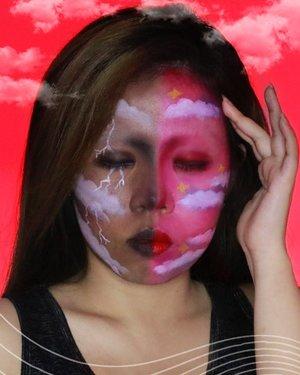 Keep walking through the storm. Your rainbow is waiting on the other side ✨ . . Details: @beautyglazed Gorgeous Me Eyeshadow Palette @imagicofficial.id Color Flash Palette . . . . . . . . . . . . #illusionmakeup #clozetteid #makeup #wakeupandmakeup #colorfulmakeup #beautybloggers #makeuptransformation #100daysofmakeup #bunnyneedsmakeup #ragamkecantikan #makeupinspo #undiscoveredmuas #makeupaddict #fantasymakeup #creativemakeup #faceart #makeupillusion #artisticmakeup #facepaint #makeupartistry #instamakeupartist