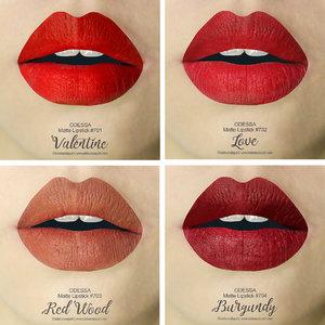 Odessa Matte Lipstick merupakan produk lokal dengan harga yg super terjangkau namun berkualitas, dan tersedia dalam 12 pilihan shades. Untuk review lebih lengkap, please check out my new blog post! 😄www.adekumalaputri.comThank you @sbybeautyblogger and @eternallybeauty 💕#sbbxodessacosmetics #sbybeautyblogger #sbbreview #eternallybeauty #odessacosmetics #mattelove #clozetteid #lalareview #lipswatches