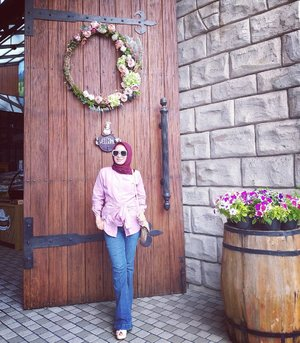 Yesterday ootidi 👗.Top @mawii.store Hijab @ranscarf.id ..#casualstyle #clozetteid